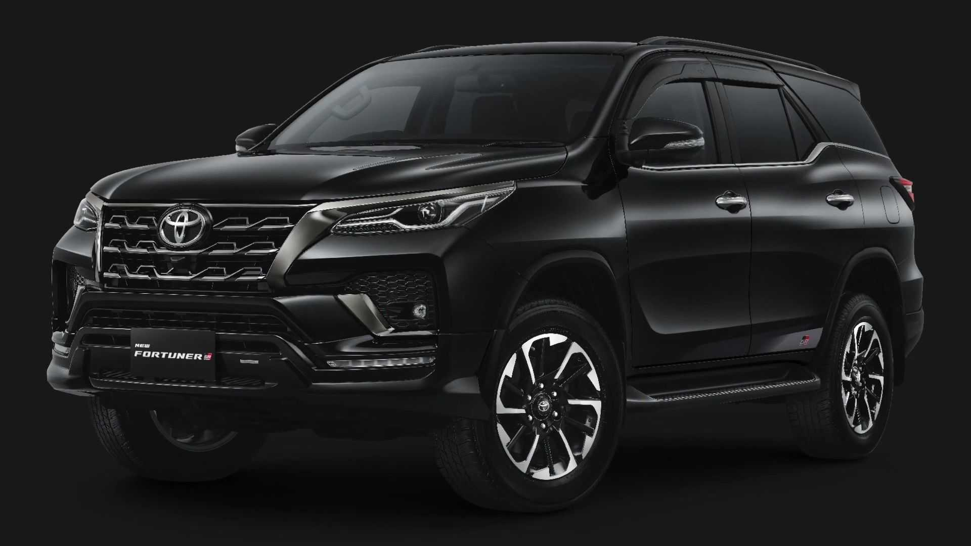 Toyota began expanding a 'sportier' GR lineup in a tumble of 2017 and has given upgraded scarcely each prolongation automobile with that version, trimming from a compress Yaris to a outrageous Land Cruiser – and a Fortuner joins a list now.